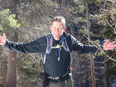 Jack Blackwell Hiking in Colorado