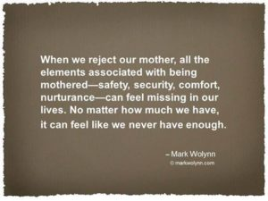 Rejecting our Parents Mark Wolynn Quote